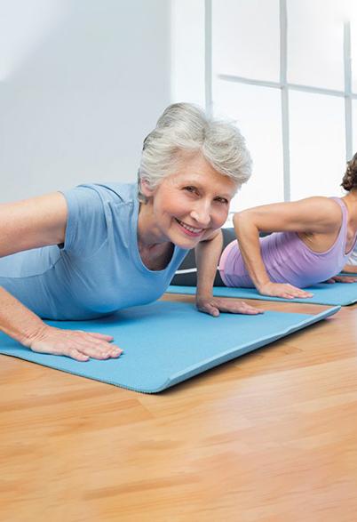 Cours de Pilates tous niveaux et tout âge à Lausanne par SPILATES